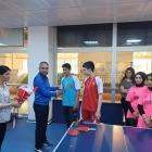 Masa Tenisi turnuvasında dereceye girenlere ödül