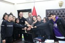 Başkan Akkuş, başarılı  sporcuları Makamında ağırladı