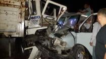 Bir Gecede Üç Kaza 1 ölü 6 yaralı