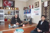 TÜRKİYE AZERBAYCAN DERNEĞİ IĞDIR ŞUBE BAŞKINI İLTERİŞ KAAN TAŞKINSU'DAN  HAYIRLI OLSUN ZİYARETİ