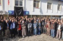 Tuzluca Ankara katliamını protesto etti