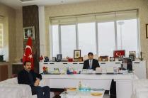 Rönesans Holding SENA HES İşletme Müdürü Bülent Dolgun'dan Rektör Alma'ya Nezaket Ziyareti