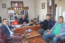 21 Ekim Dünya Gazeteciler Günü dolayısıyla Gazetemize Anlamlı ziyaret