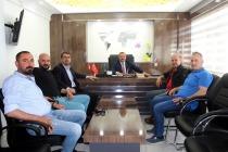 Başkan Coşar'a Hayırlı Olsun Ziyareti