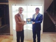 ÇEM Genel Müdürü İpek'ten Rektör Alma'ya ziyaret