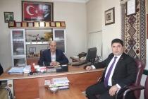 Bayrakçı Öztürk'ten Nezaket Ziyareti