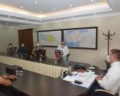 Vali/Belediye Başkan V. H. Engin Sarıibrahim'e Hayırlı Olsun Ziyareti