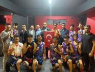 Kurban Parlar Muay Thai ve  Wushu – Budokaido takımıZiyaret Etti