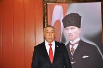 BAŞKAN  SERDAR  ÜNSAL'DAN , ERMENİSTAN 'DA  TÜRK VE AZERBAYCAN BAYRAĞININ YAKILMASINA TEPKİ