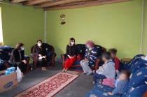 Hatice Sarıibrahim Aile  Ziyaretleri Kapsamında Aktaş  Ailesini İkametlerinde Ziyaret Etti