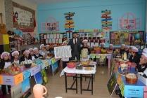 Öğrenciler Türk Malları   haftasını kutladılar.
