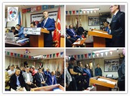 İSTAD GÜVEN TAZELEYİP  AZERBAYCAN'IN BAĞIMSIZLIK GÜNÜNÜ KUTLANDI