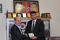 Azerbaycan Kars Başkonsolosu Ayhan Süleymanov'dan anlamlı ziyaret