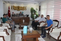 Iğdır Ticaret Borsasından  Vali Ahmet Turgay ALPMAN'a Ziyaret