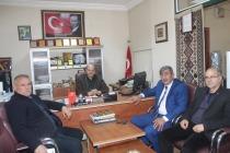 Başkan Bayramali Ballı'dan Gazetemize Nezaket Ziyareti