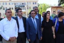 Iğdır'da Kayyum Atanan Belediye Meclis Üyelerinden basın açıklaması