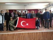 İMKB ANADOLU LİSESİ'NDE ''VATANIM TÜRKİYE'Yİ SEVİYORUM'' PROGRAMI