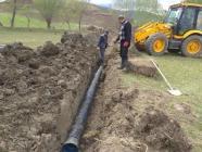 Yeni Mahallede Kanalizasyon Çalışması...