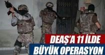 DEAŞ'a 11 ilde büyük operasyon: 156 gözaltı