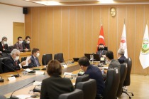 Tarım ve Orman Bakanı Bekir Pakdemirli'ye ziyaret