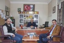 Ak Parti Aday Adayı Ahmet Tutulmaz'dan Nezaket Ziyareti