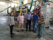 Rektör Alma, Organize Sanayi Bölgesinde Bulunan Firmaları Ziyaret Etti