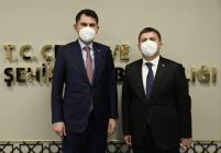Çevre ve Şehircilik Bakanı Sn. Murat Kurum'a Ziyaret