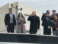 HDP Eş Genel Başkanı Temelli Iğdır'daydı