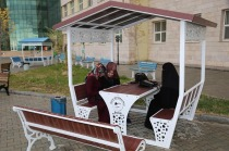 Üniversite Kampüsünde Otobüs Durakları, Kamelya ve Oturaklar Hizmet Vermeye Başladı