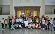 Biz Anadoluyuz Projesi Kapsamında  Trabzon'dan Gelen Öğrenciler Ağırlandı