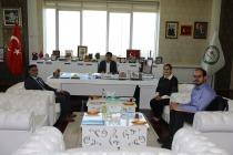 SERKA İl Koordinatöründen  Rektör Alma'ya Nezaket Ziyareti
