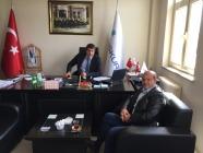 İŞ-KUR Müdürü Abdullah Can'a Nezaket Ziyareti