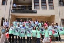 Iğdır Belediye Meclis  Üyelerine Forma Hediye Edildi