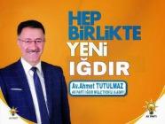 Ak Parti İl Başkanı Ahmet Tutulmaz Milletvekilliği için İl Başkanlığından  İstifa Etti