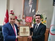 AZERBAYCAN BAŞKONSOLUSUNDAN HAYIRLI OLSUN ZİYARETİ