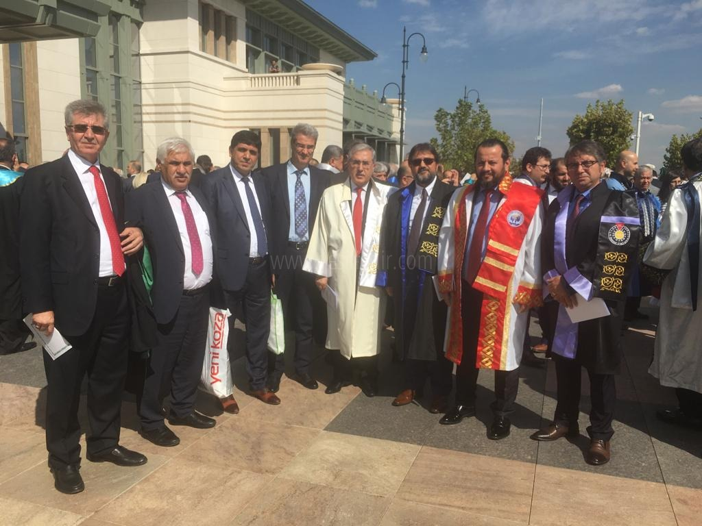 Rektör Alma, 2018-2019 Akademik Yılı Açılış Törenine Katıldı