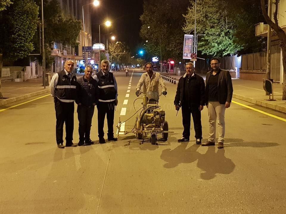 Iğdır Belediyesi Zabıta müdürlüğü Gece Gündüz Demeden Hizmet ediyor
