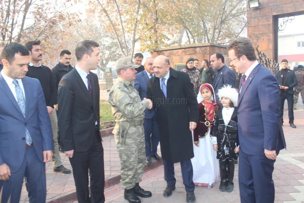 Başbakan Yardımcısı Işık Iğdır'ı Ziyaret Etti