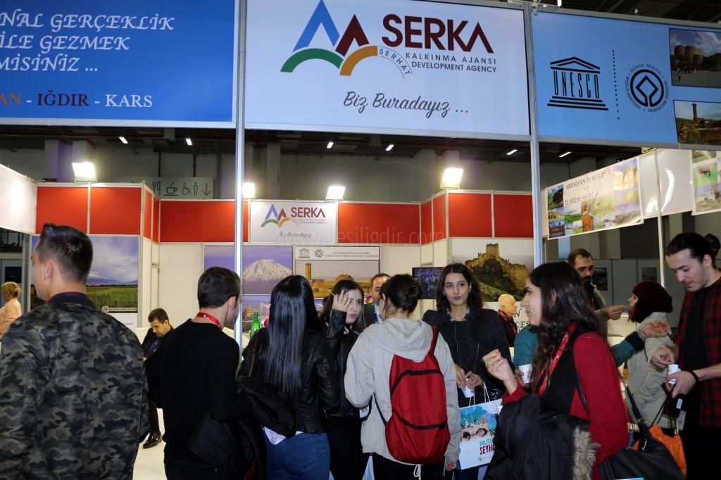 SERKA, Travel Turkey İzmir Fuarı'nda bölge illerini tanıttı