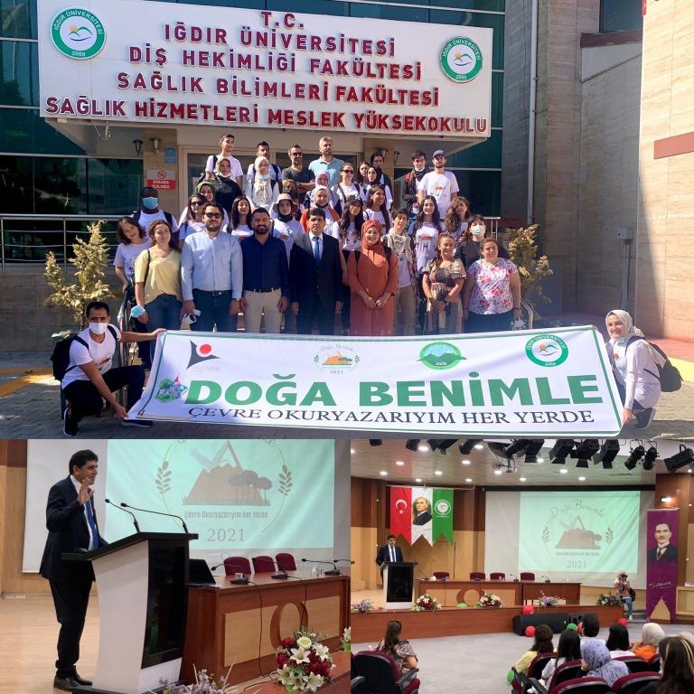 TÜBİTAK destekli 4004 Doğa Eğitimi ve Bilim Okulları projesi Iğdır'da başladı