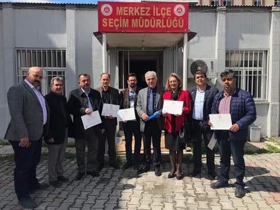 MHP'li Meclis Üyeleri Mazbatalarını Aldılar