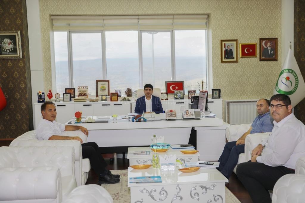 Iğdır Üniversitesi  İle Erzurum Orman Müdürlüğü Arasında Protokol İmzalandı