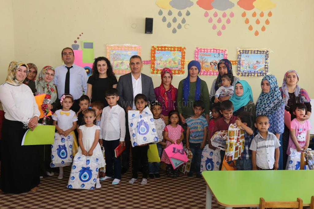 Başkan Yikit Karnelerini Alan Çocuklara Kitap Ve Oyuncak Hediye etti