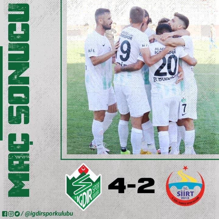 Alagöz Holding Iğdırspor 4  Siirt İl Özel İdare spor 2