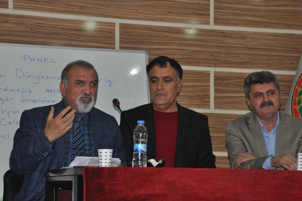 Türk dünyasında dil birliği paneli yapıldı.
