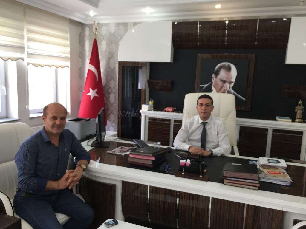 Vali Yardımcısı Abdullah Seçkin Koçak'a Hoşgeldin Ziyareti