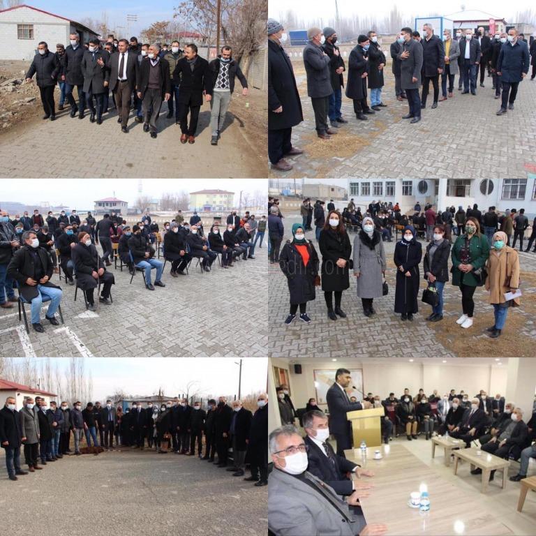 Ak Parti İl Teşkilatı köyleri geziyor