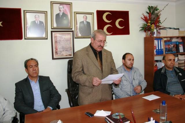 MHP Iğdır İl Başkanlığından Belediyenin Mücavir Alan Genişletme Çalışmasına  Tepki