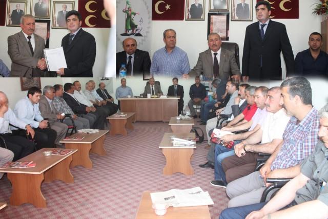 Gündüz Güneş MHP'den Iğdır Belediye Başkan Aday Adaylığını Açıkladı