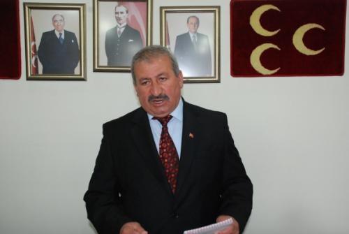 MHP İl Başkanı Cahit Erol,